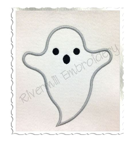 ghost designs ghost applique machine embroidery design