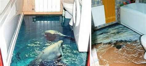 Painting Murals On Outside Walls 3d floors that will bring an ocean into your home