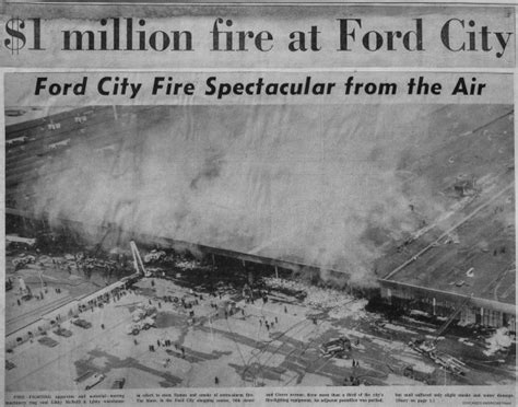 Ford City by Historic 5 11 Alarm At The Ford City Shopping Center