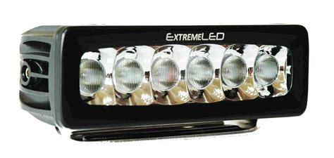 led light bar at 6 quot led light bar 2 400 lumen flood beam single