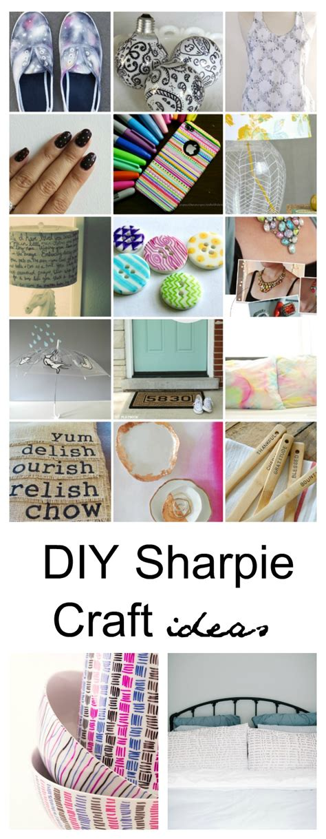 crafts for diy 25 sharpie diy craft ideas sharpie projects