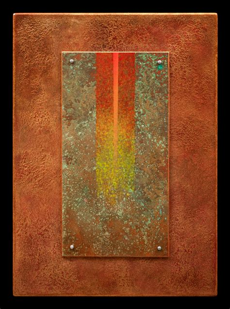 acrylic painting on wood techniques golden rays 08 by wolfgang gersch acrylic painting