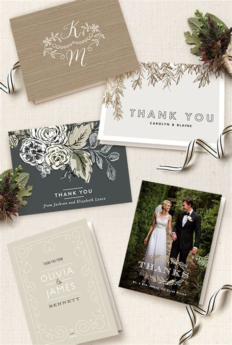 make your own wedding thank you cards 98 create wedding thank you cards weddingglamorous
