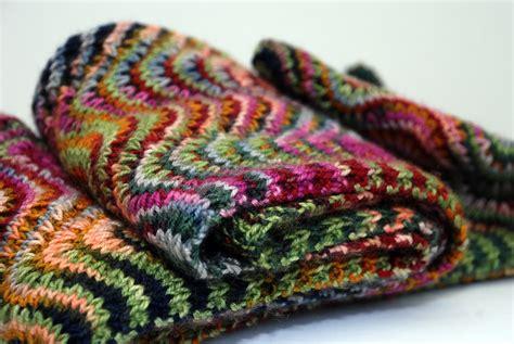 chevron knit pattern knit me a river chevron scarf