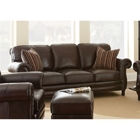 leather sofa pillows steve silver company chateau chocolate brown leather sofa