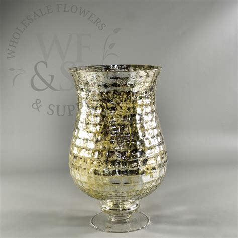 cheap mercury glass vases pedestal footed mercury glass mosaic vase wholesale flowers and supplies