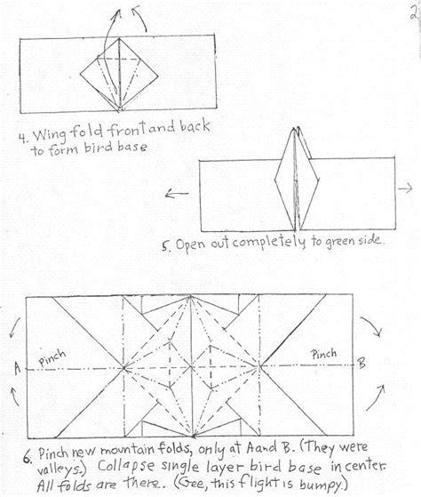 origami crane dollar bill crane ring