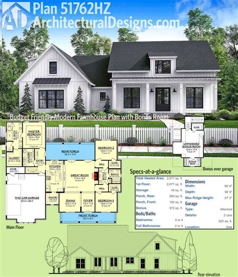 farmhouse house plan best 25 modern farmhouse plans ideas on