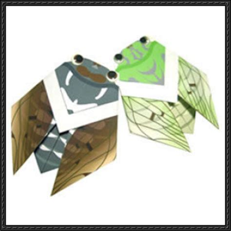 canon paper crafts canon papercraft cicada origami free