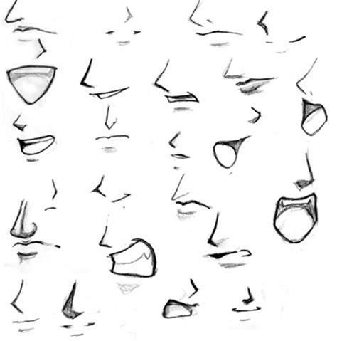 how to draw mouths crunchyroll groups drawing paradise