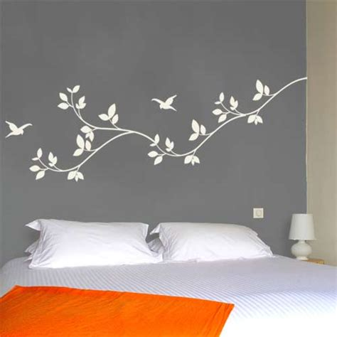 cool wall stickers for bedrooms leaves wall decal nature vinyl wall graphics