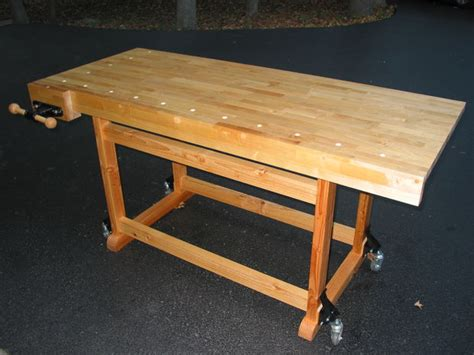 make a woodworking bench build this woodworker s workbench to learn mortise tenon