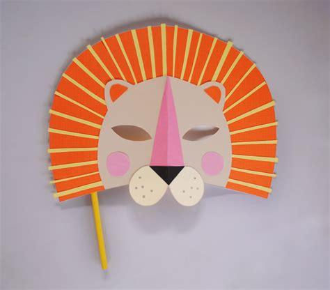 mask craft for mer mag diy paper mask for national geo