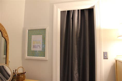 closet door curtains peahen pad gray curtains for closet doors