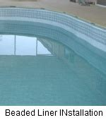 beaded pool liner installation installing an above ground pool