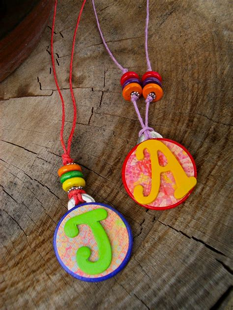 necklace crafts for jewelry craft with children meandyoucrafts