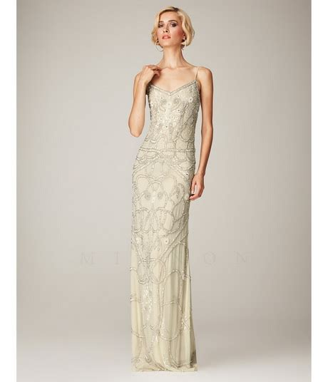 beaded evening dresses beaded evening dress