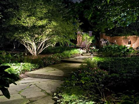 landscape path lighting how to illuminate your yard with landscape lighting hgtv