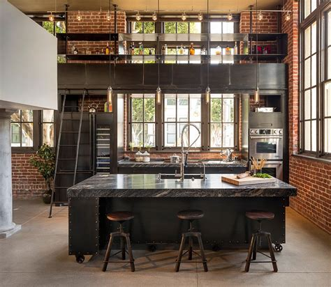 industrial look modern industrial style combines aesthetics with