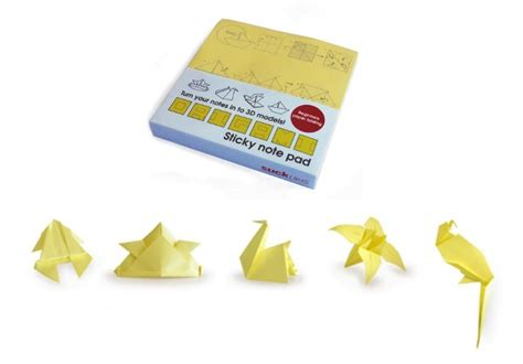 origami sticky notes 10 cool and creative sticky notes holycool net