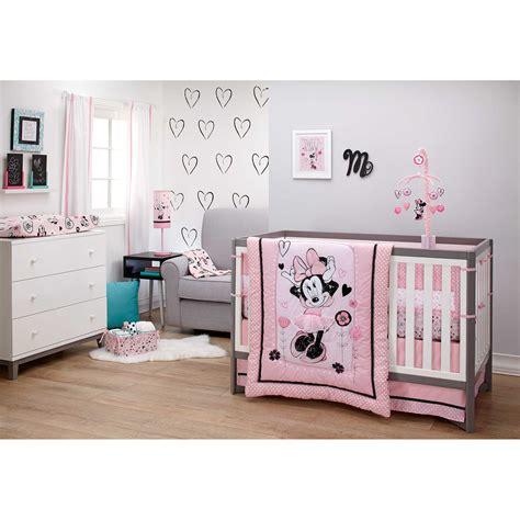 disney minnie mouse 8 crib bedding set disney minnie mouse hello gorgeous 3 crib bedding