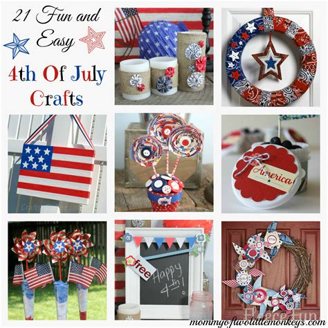 4th of july crafts 21 easy 4th of july crafts
