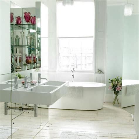 mirrored wall bathroom contemporary bathroom mirrored wall housetohome co uk