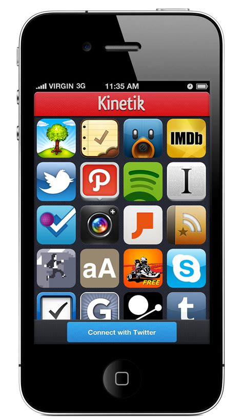 app iphone kinetik an iphone app that lets you find and great