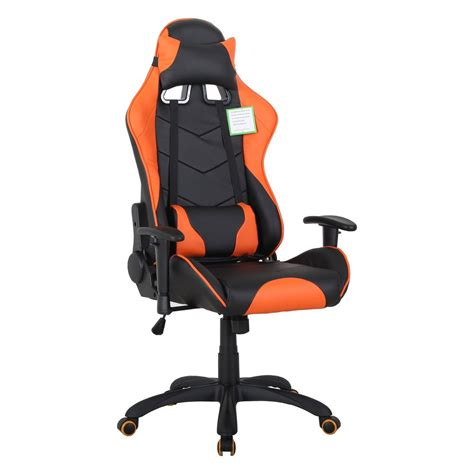 Orange Gaming Chair by Lemans Gaming Chair Orange Staples 174