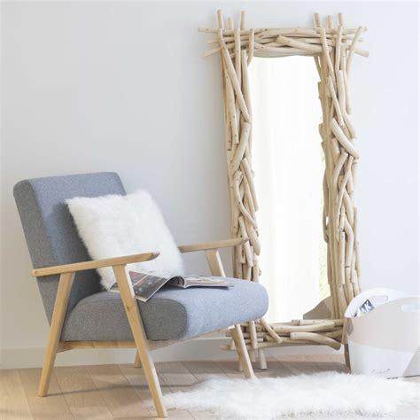 miroir en bois h 153 cm rivage maisons du monde