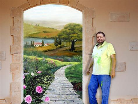 painting wall murals 1000 ideas about painted wall murals on