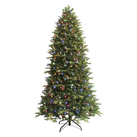 sears trees pre lit 7 5 pre lit aspen fir tree sears