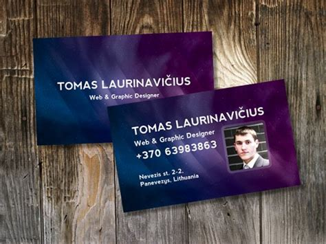 how to make business cards in photoshop 100 free psd business card templates