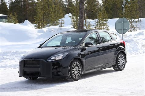 2015 Ford Focus Rs by Spyshots 2015 Ford Focus Rs Autoevolution