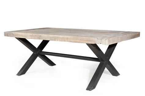 table a manger fer forge et bois