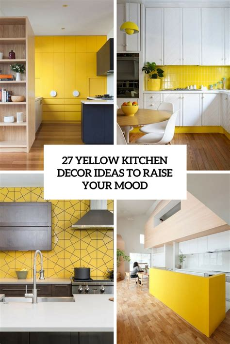 yellow kitchen decorating ideas 432 the coolest kitchen designs of 2017 digsdigs