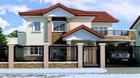 house design floor plan philippines 2 storey house design with floor plan in the philippines