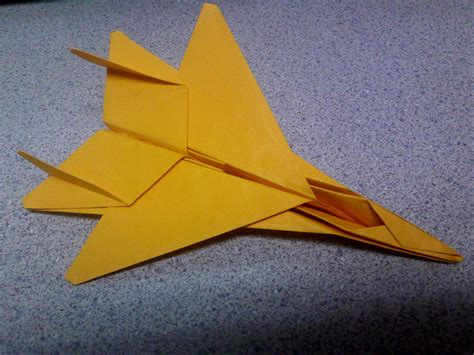 origami f 15 gold origami f15 fighter jet by theorigamiarchitect on
