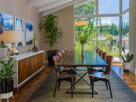 mid century modern dining room midcentury modern dining room photos hgtv