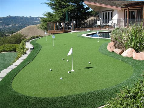 putting greens backyard putting green in backyard image mag