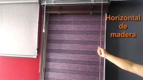 persianas y cortinas persianas y cortinas horizontal de aluminio y horizontal