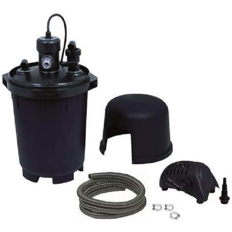 syst 232 me de filtration pour bassin biopressure 7000 plusset ubbink