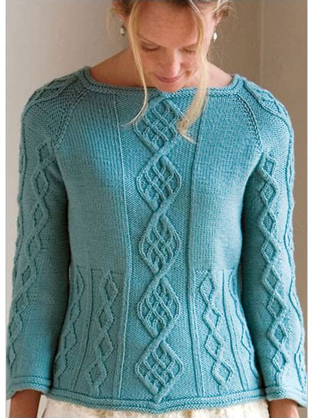 raglan pullover knitting pattern cable raglan knitting pattern pullover