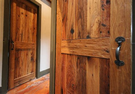 reclaimed wood interior doors custom rustic doors reclaimed wood interior doors in oak