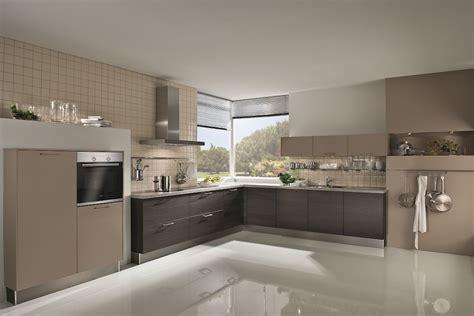 Galley Kitchen Layout Ideas matt cashmere laminate kitchen
