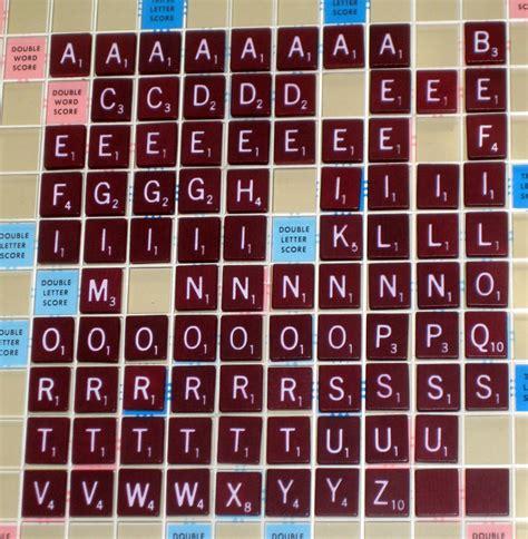 Sold Scrabble Tiles 91 Burgundy Maroon Wood Wooden