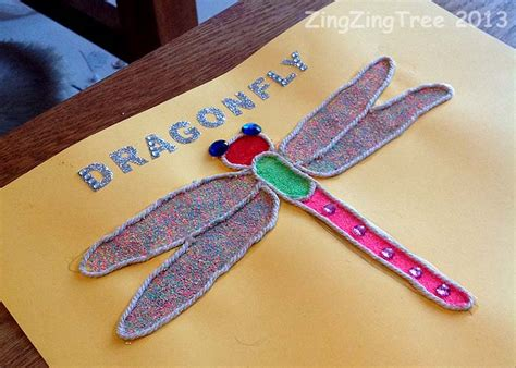 craft of three beautiful types of dragonfly craft zingzingtree