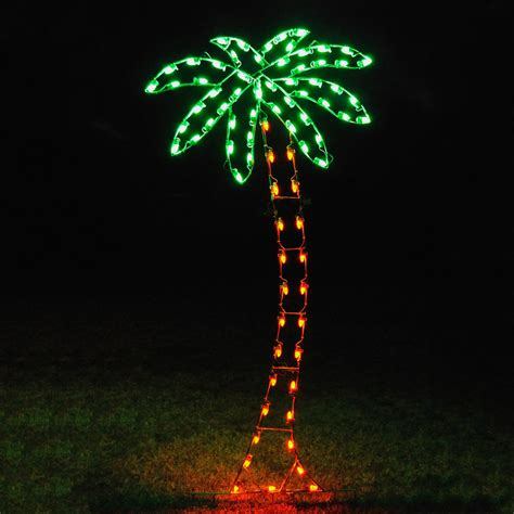 palm tree with lights shop lighting specialists 8 83 ft palm tree