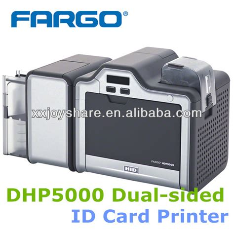 id card machine fargo hdp5000 sides plastic pvc id card printer