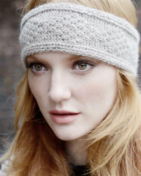 knit a headband inca headband knitting pattern purl alpaca designs